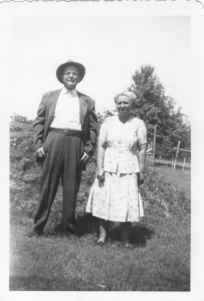 William Scyler and Myrtle Odessa Stogsdill Langley