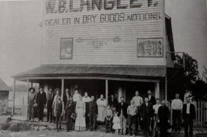 W.B. Langley's store in Old Success